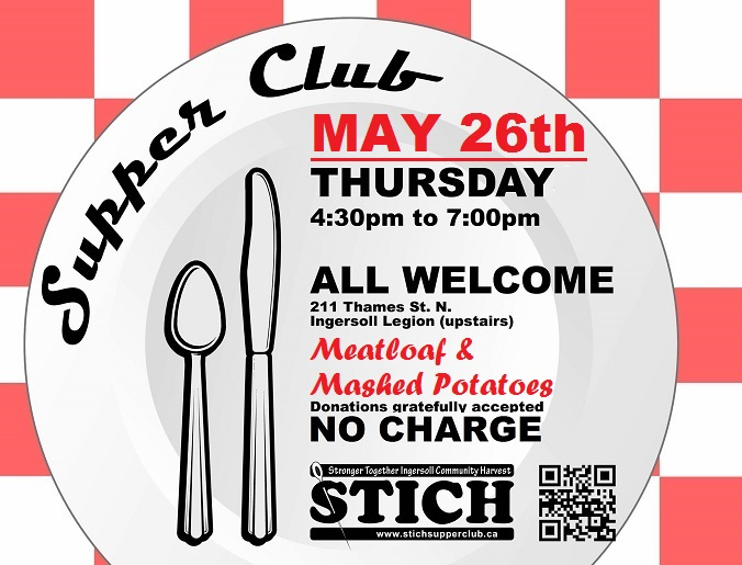 Supper Club Flyer MAY 26 MEATLOAF